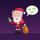 christmas, xmas, new year, santa claus, ho ho ho, holidays wallpaper
