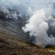 crater, volcano, mount bromo, java, indonesia, smoke, nature wallpaper