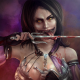 mileena, video games, mortal kombat x, artwork, blood, knife, mkx, fantasy wallpaper