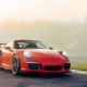 porsche 911 gt3 rs, car, porsche 911, porsche, fog wallpaper