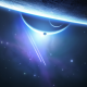 space, 3D renders, stars, galaxies, planet, moon wallpaper