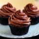 cupcake, chocolate, sweet, dessert, muffins, food wallpaper
