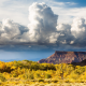 zion national park, clouds, landscape, nature, utah, usa wallpaper