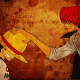 anime, hat, one piece, monkey d. luffy wallpaper