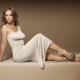 jennifer love hewitt, actress, white dress, high heels wallpaper