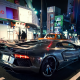 car, lamborghini aventador, chrome lamborghini aventador, liberty walk, city, street wallpaper