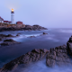 portland head light, ape elizabeth, maine, lighthouse, coast, gulf of maine, nature, sea, ocean wallpaper