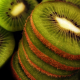 food, fruit, kiwi, macro, slice wallpaper