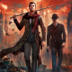 sherlock holmes: the devils daughter, artwork, video games, london wallpaper