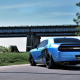 car, Dodge, Dodge Challenger, road, bridge wallpaper