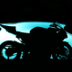 ducati cbr 1000, ducati, bike, pool, night, silhouette wallpaper