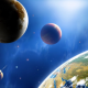 space, planets, earth, stars, solar system, space exploration wallpaper