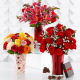 flowers, roses, chocolate, lilies, romance, tulips, bouquets wallpaper