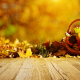 autumn, leaves, pumpkin, leaf, nature wallpaper