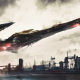 spaceship, science fiction, artwork wallpaper