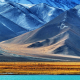 Pamir, Tajikistan, nature, landscape, mountain, snow, water, lake, snowy peak, field, hill wallpaper