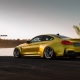 bmw m4 gtrs4, yellow, vorsteiner, tuning, bmw m4, cars, bmw wallpaper