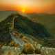 nature, walls, Great Wall of China, mountain, landscape wallpaper