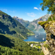 geiranger, norway, fjord, nature, mountains, cruise ships wallpaper