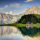 switzerland alps, house, mountains, river, forest, beauty, nature, lake wallpaper