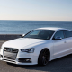 audi, sea, cars, white audi, audi s4 avant 2010 wallpaper