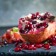 pomegranate, grains, fruits, food wallpaper