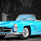 1957 mercedes-benz 300sl, retro, cars, vintage, roadster, mercedes wallpaper