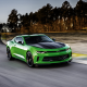 2017 chevrolet camaro 1le v-6, supercar, speed, green chevrolet, chevrolet camaro wallpaper