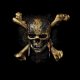 pirates of the caribbean: dead men tell no tales, logo, pirate, skull, movies wallpaper