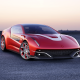2012 italdesign giugiaro brivido concept, red car, cars, giugiaro brivido wallpaper