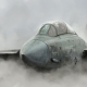 military aircraft, dust, smoke, art, aviation, jet fighter, jet aircraft wallpaper
