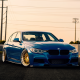 bmw 3-series, bmw f30, cars, bmw, blue bmw wallpaper