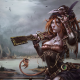 steampunk, women with guns, fox girls wallpaper