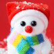 new year, holidays, toy, snowman, christmas wallpaper