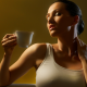 coffee, cup, dreaming, women wallpaper