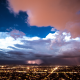 sky, clouds, thunder, lightning, storm, thunderstorm, nature wallpaper