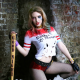 suicide squad, harley quinn, cosplay, women, pantyhose, baseball bat,  wallpaper