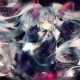 Vocaloid, Hatsune Miku, anime girls, anime, blue eyes, long hair wallpaper