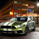 ford mustang, notchback design, ctreet, night, ford, cars wallpaper