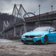 bmw m4, bmw, bmw f82, city, ukraine, bridge wallpaper