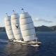 maltese falcon, ship, sailboat, nature, island, sea, sail wallpaper
