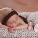 baby, hat, dream, sleep, butterfly, child wallpaper