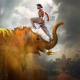 baahubali 2: the conclusion, indian movies, movies, baahubali, elephant wallpaper