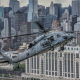 helicopters, military aircraft, aircraft, blackhawk, Sikorsky UH-60 Black Hawk, city, cityscape, sky wallpaper