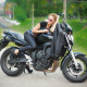 elena sergienko, bike, zaporozhye, ukraine, motorcycle, leggins, legs, women, blonde wallpaper