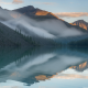 altai, morning, dawn, siberia, alethoshavlinsky lakes, lake, russia, fog wallpaper
