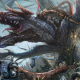 fantasy art, dragon, knights, Monster Hunter wallpaper