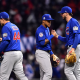 major league baseball, cubs, chicago cubs, addison russel, anthony rizzo, kris bryant, baseball, sport wallpaper