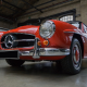 mercedes-benz 190 sl, cars, retro cars, mercedes wallpaper