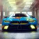 bmw m8 gte, cars, bmw, garage, bmw m8 wallpaper